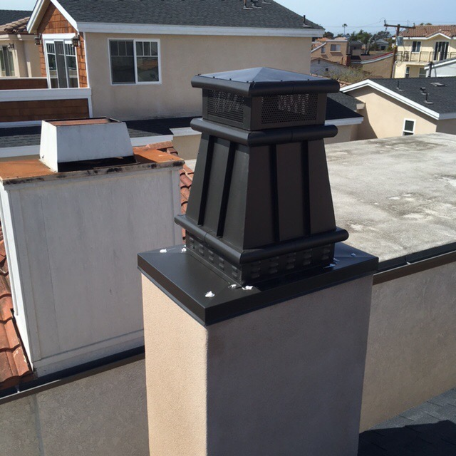 A new chimney cap