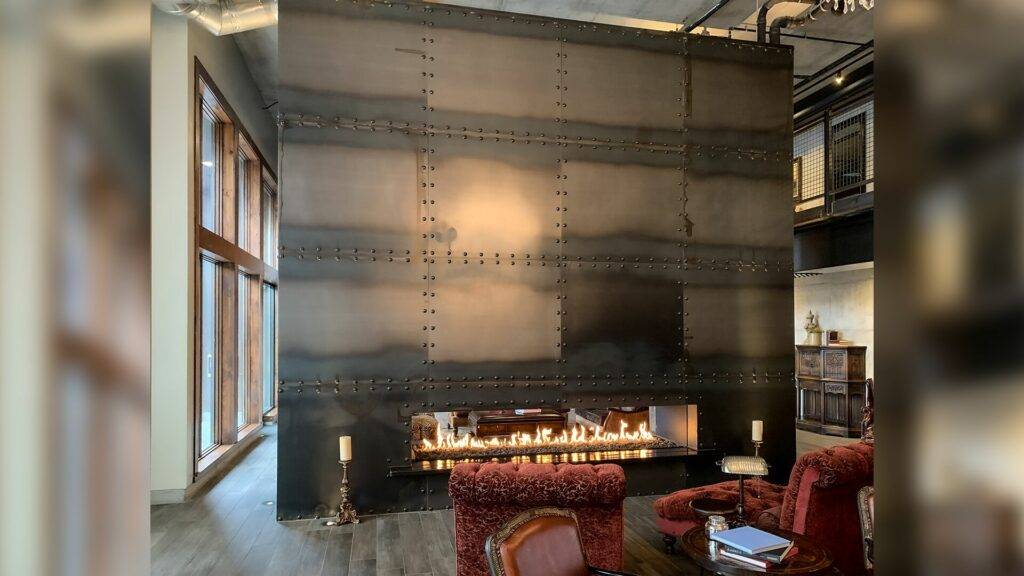 Stellar See Thru Fireplace